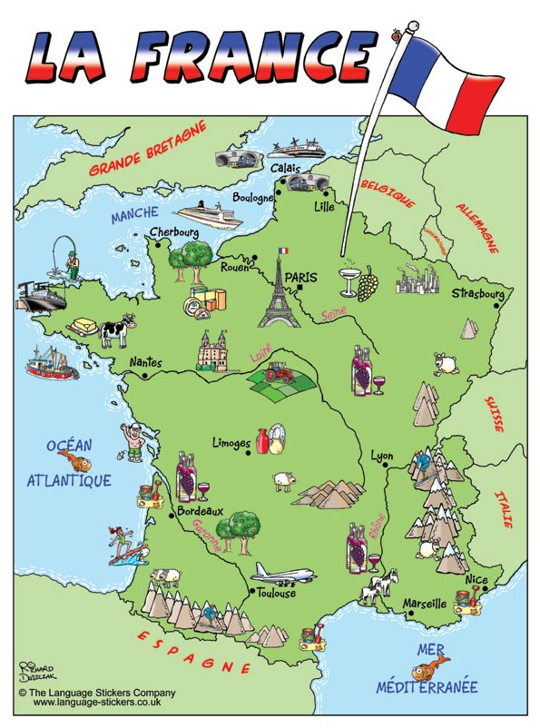 France online maps geographical political road railway
